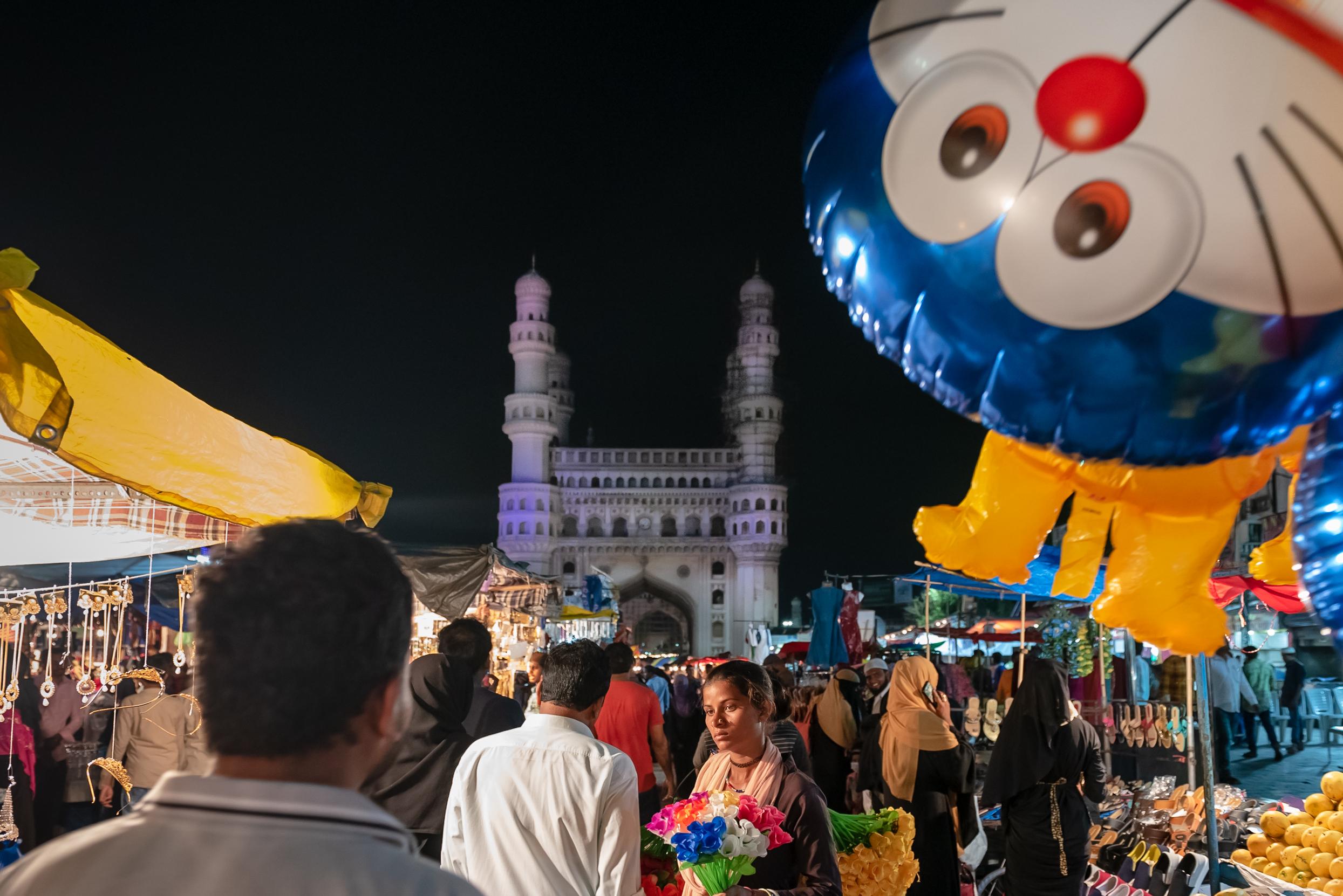 Charminar during Ramzan 2018
