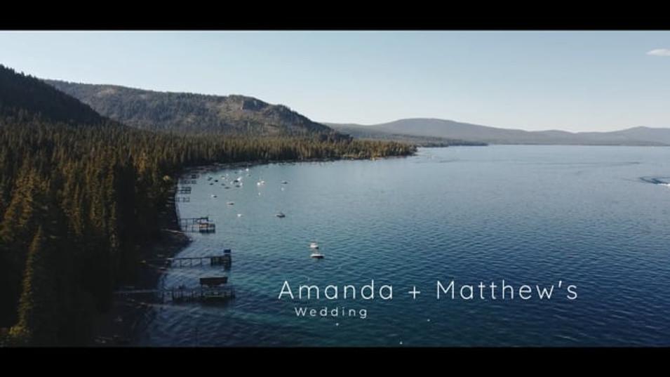 Amanda + Matt's Wedding
