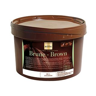 Pâte au Glace Brune  (Dark)