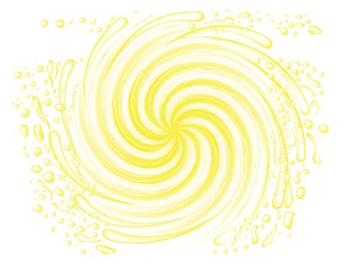 Yellow Emulsion Gel
