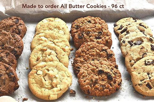 Artisan Macadamia White  Chocolate Chip Cookies 96 ct.