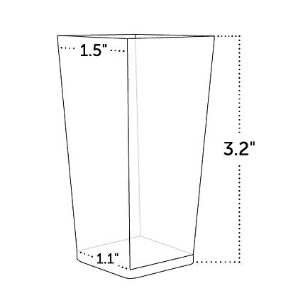 Square Shot Glass Cup Verrine