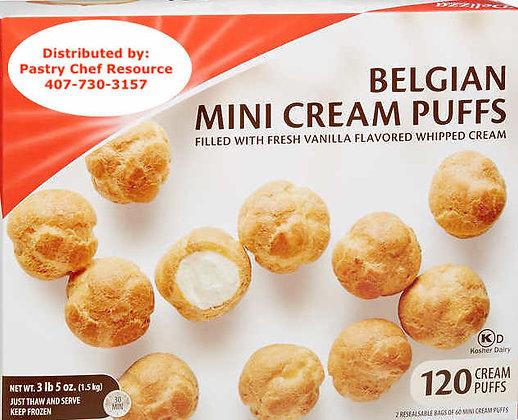 Belgium Mini Cream Puffs