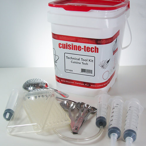 Essential Tool Kit for Molecular Gastronomy