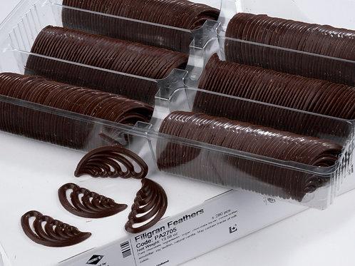 Filigran Feathers Dark Chocolate