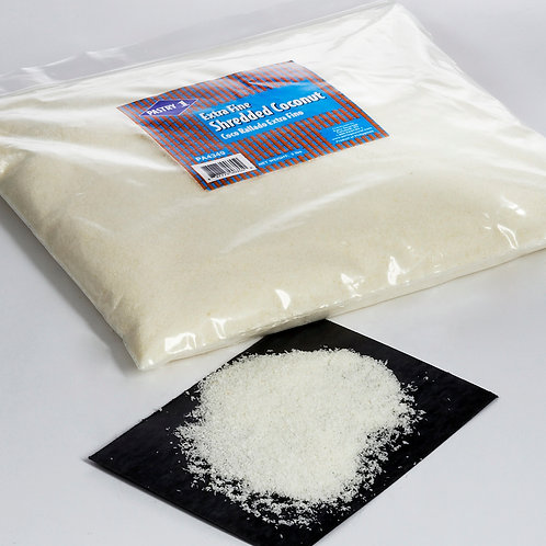 Extra Fine Shredded Coconut, unsweetened