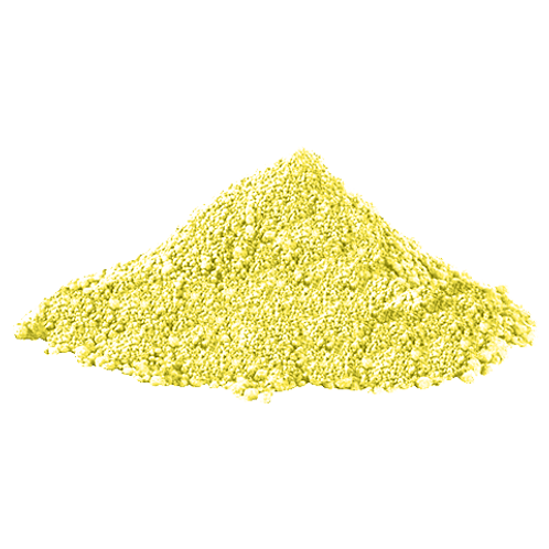 Yellow Color Powder