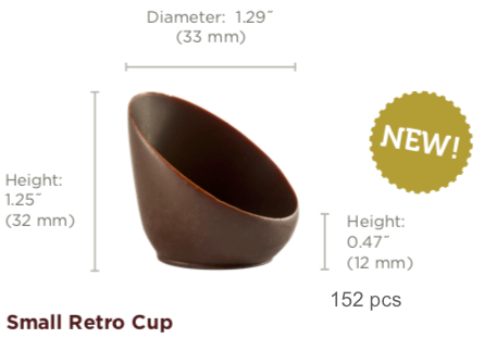Small Retro Cup Chocolate