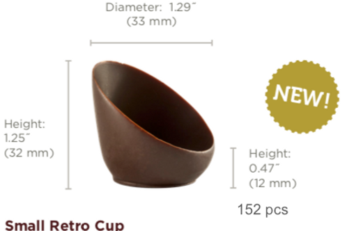 Small Retro Cup Chocolate