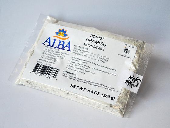 Tiramisu Mousse Mix