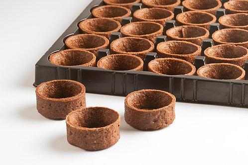 "1.3"" Round Mini Chocolate Tartlet"