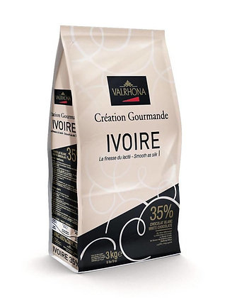 Ivoire (White) Chocolate 35% Valrhona