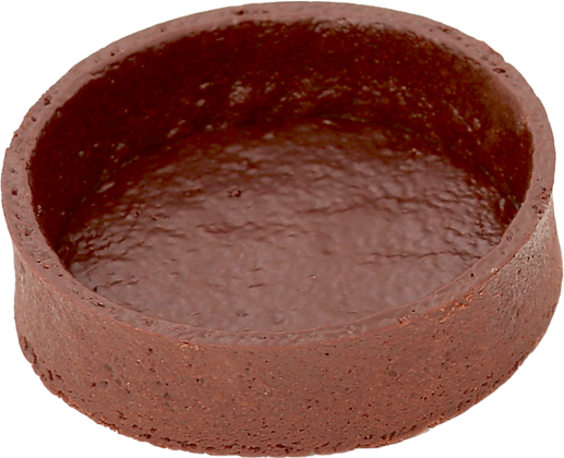 "4"" Round Chocolate Coated Deli France"