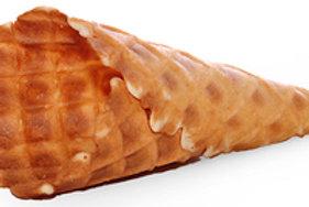 "4"" Waffle Cone, Sweet."