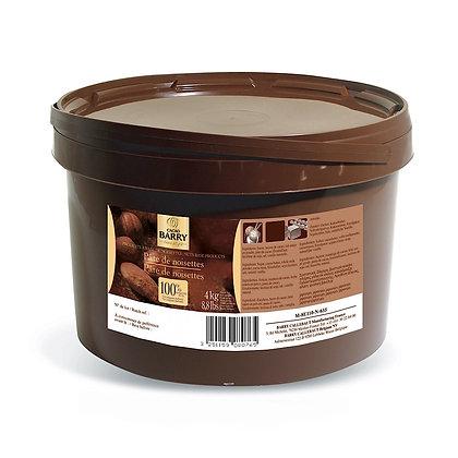 100% Hazelnut Paste Callebaut
