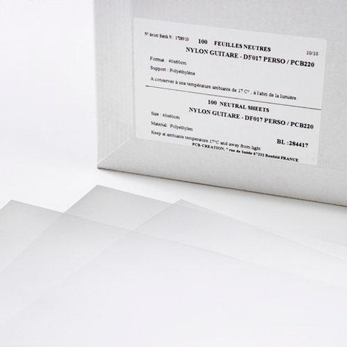 Guitare Acetate Plastic Sheets 16 x 24