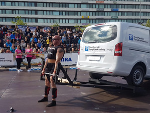 My US Strongman: Rich DeStefani reports from SCL Finland