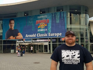My US Strongman: Chris Alitz Reports on the Arnold Europe!