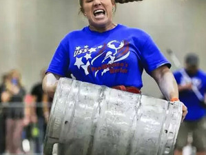 My US Strongwoman: Sarah Lanzillo Competes at USS Pro Women's Worlds!
