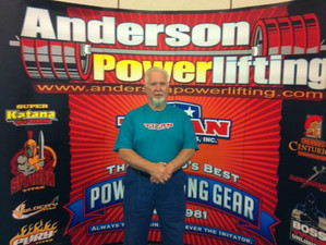 Anderson Powerlifting Deadllift for Reps at USS Nats!