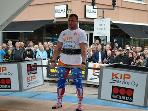 My US Strongman: Jordan Donaldson at SCL 105 K Worlds!