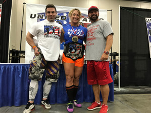 My US Strongwoman: USS HW Pro Women's Champ, Mary Cain!