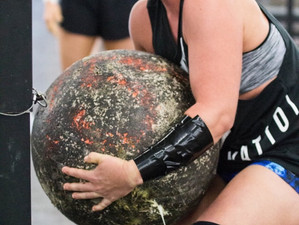 My US Strongman! Lindsey Haggerty from USS PRO Women's Worlds!