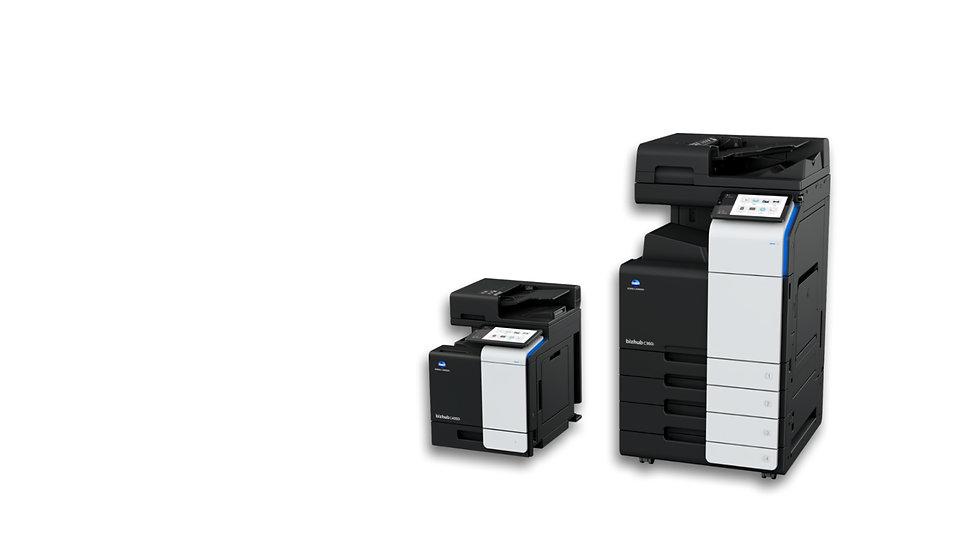 Konica Minolta bizhub C360i and C4050i multifunction printer and copier at QAOM Green Bay