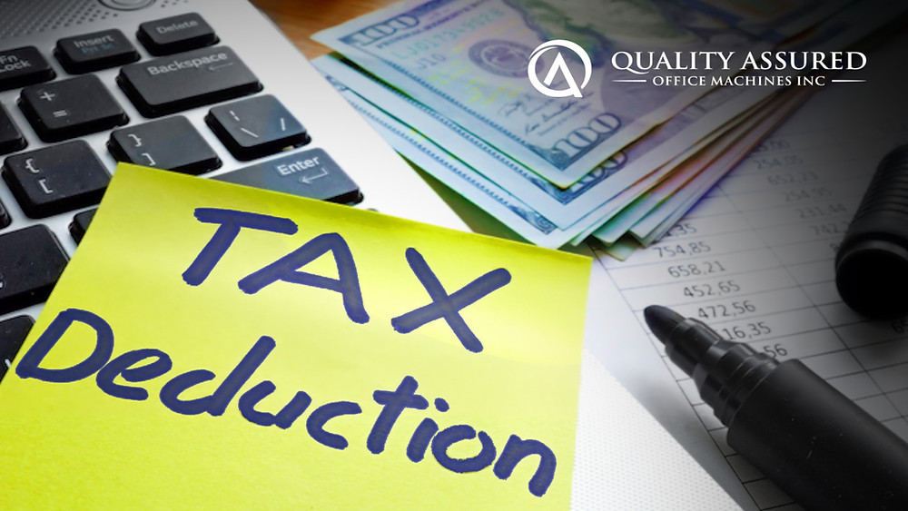 Section 179 business tax deductions for office equipment in 2020 from Quality Assured Office Machines, Inc. of Green Bay.