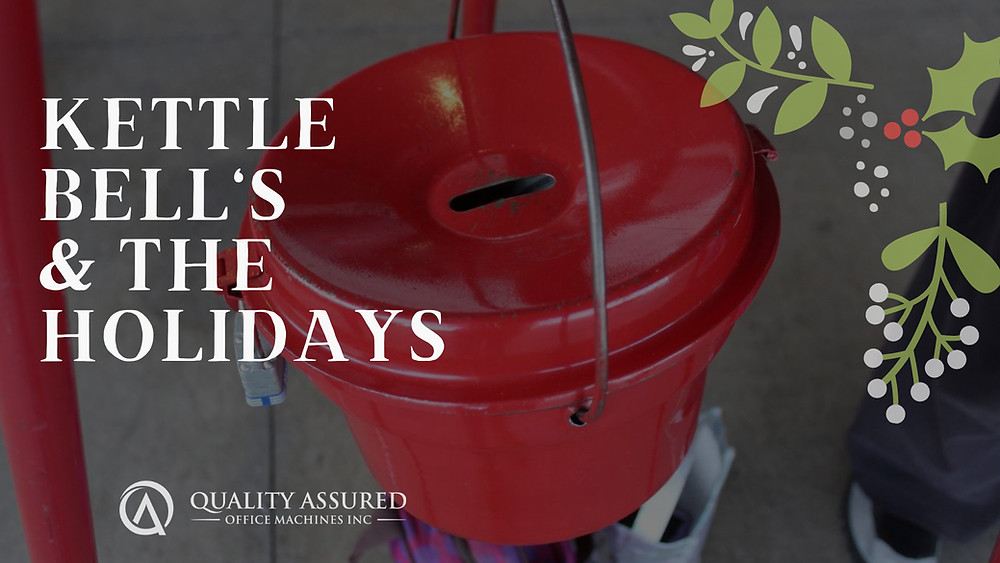 Kettle Bells and the Holidays Blog Post from Quality Assured Office Machines, Inc. Green Bay
