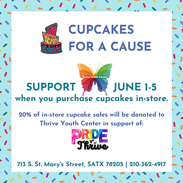 OYC Cupcakes for a Cause- Thrive Youth C