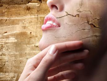 Voeding die de huid uitdroogt en voeding die hydrateert