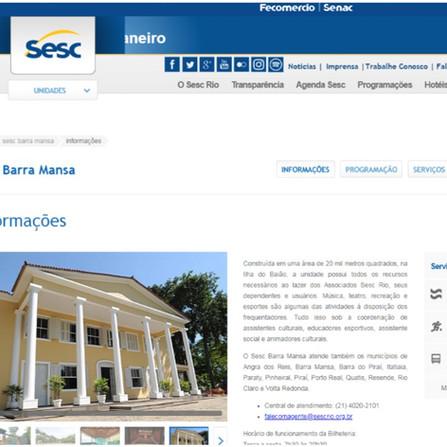 SESC Barra Mansa