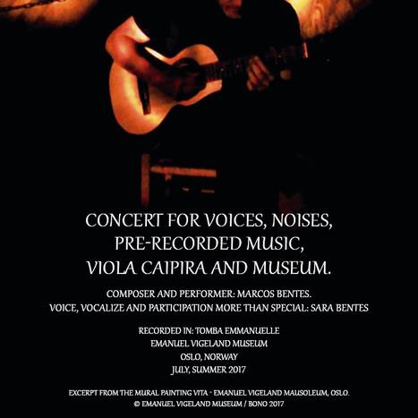 Concerto para vozes, ruídos, música pré-gravada, viola caipira e museu