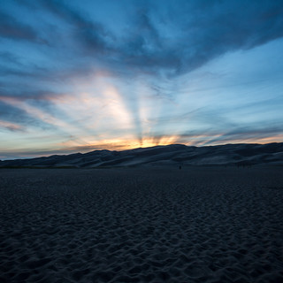 Great Sand Dunes Sunset