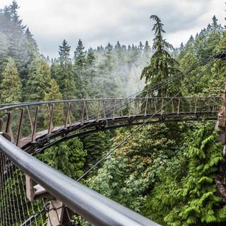 Skywalk at Capilano Suspension Bridge, Vancouver, Canada