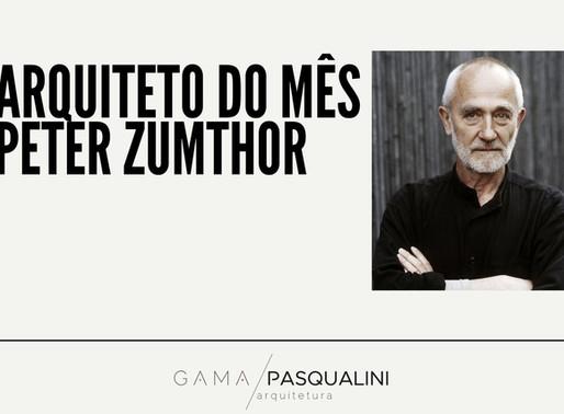 Arquiteto do mês   Peter Zumthor