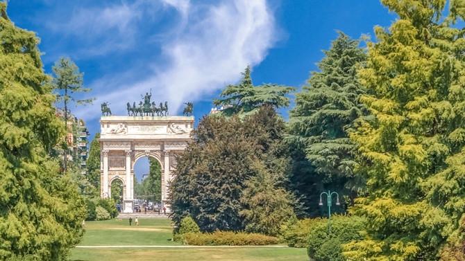 Inizio d'estate a Milano
