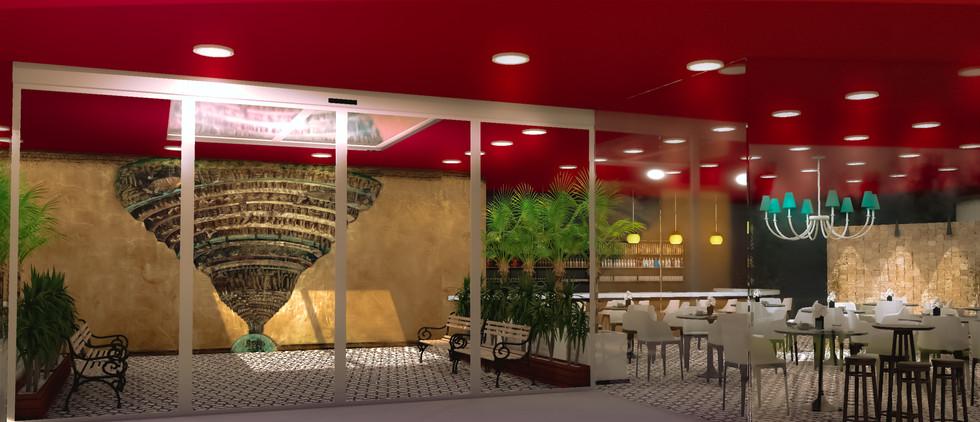 Alighieri Business Inn - Entrada e café.