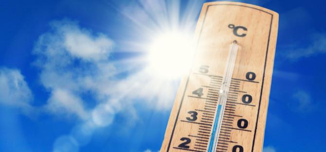 Accelera il rialzo delle temperature