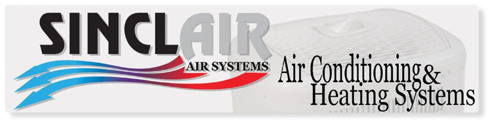 Sinclair Air systems website