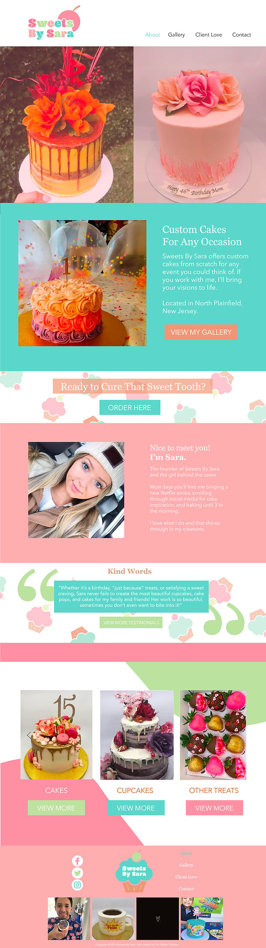 Sweets By Sara Web Design Template-01.jp
