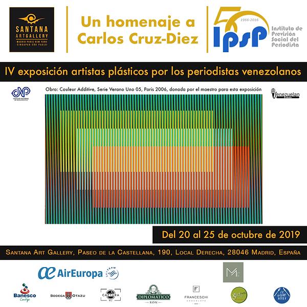 IV exposicion por los periodistas venezo