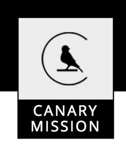 Screenshot, canarymission.org