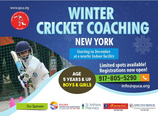 Winter Coaching starts in December
