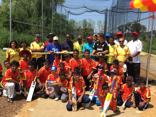 Queens United Cricket Academy Opens Batting Cages