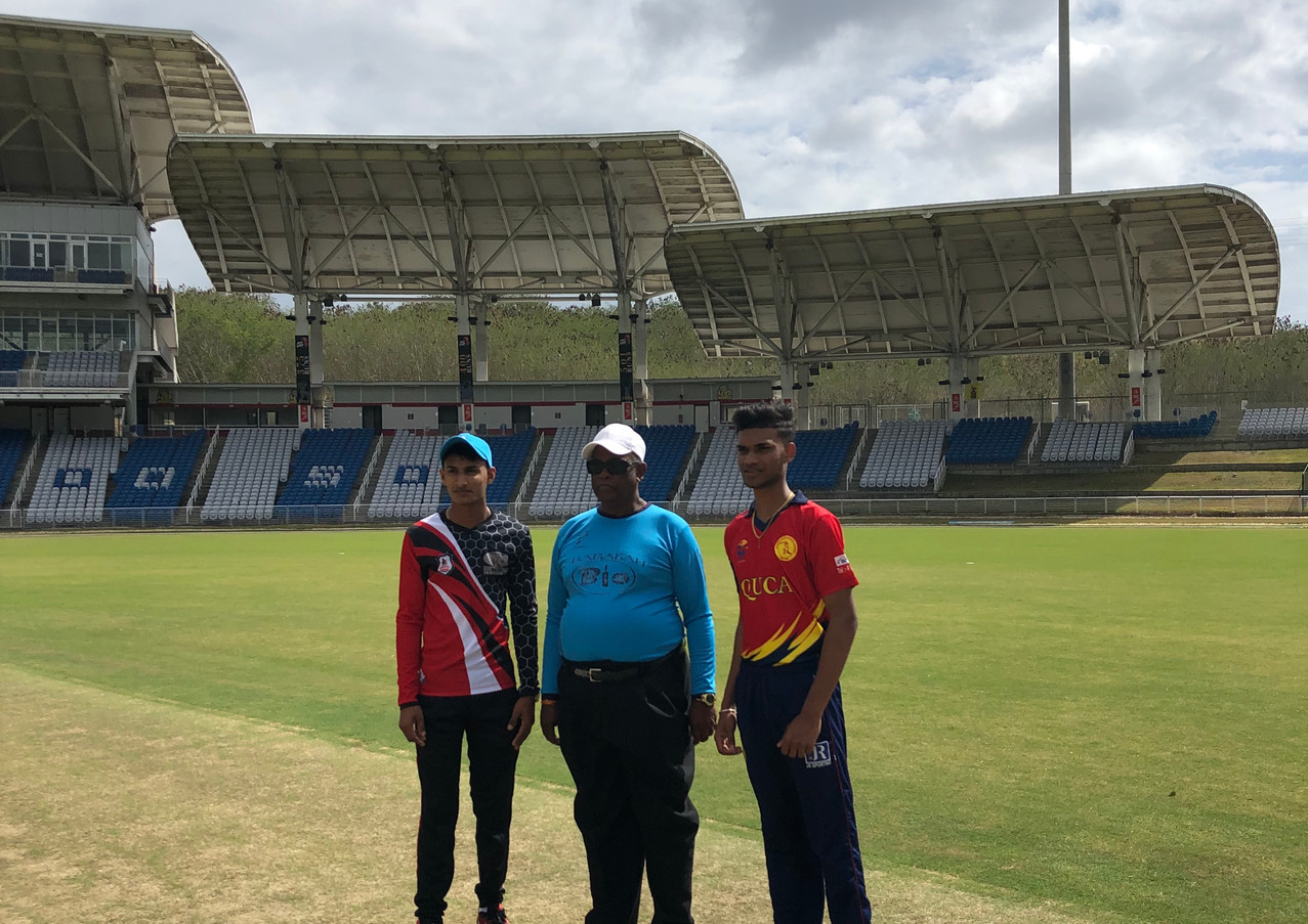 Brian Lara Stadium Game3 Toss
