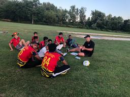 Root Academy camp at QUCA