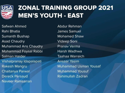 14 QUCA Players in East Zone Youth Squad