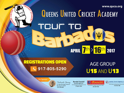 QUCA Set to Tour Barbados
